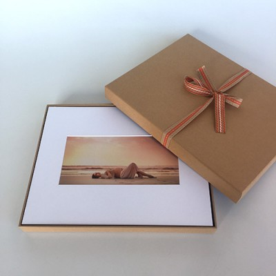 Natural Kraft Portrait Box