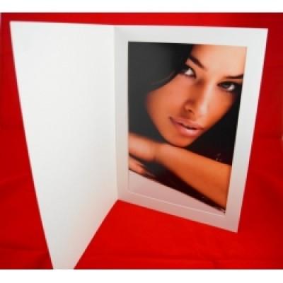 "White Econo Folders 7x5"""