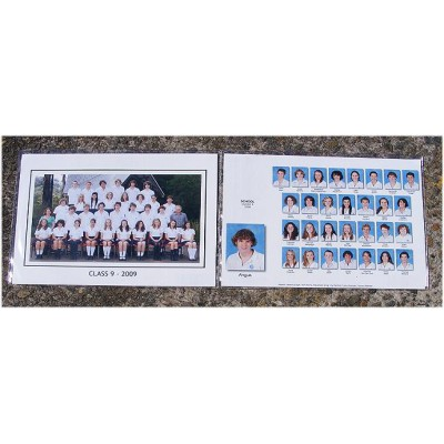 PVC Clear Sleeves (12x8/A4) Double (min 500)
