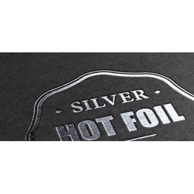 Printing Charge ONE COLOUR Foil (qty 500+) per folder
