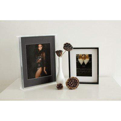 "Acrylic Edge Frame Block 14x11 - (suits 10x8""/12x8"" images)"